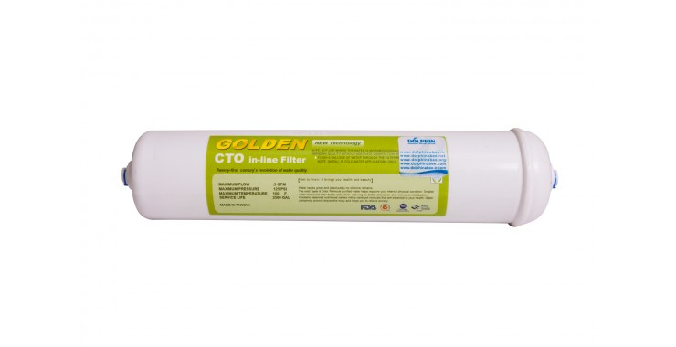 CTO in-line Filter فیلتر کربن بلاک