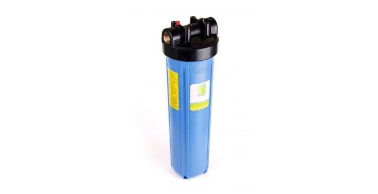 محفظه ( هوزینگ) آبی BIG BLUE به طول 20 اینچ با درپوش